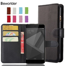Buy Xiaomi Redmi 4X Stand Wallet 9 Colors Phone Cases Cover Bags Lichee Pattern Flip PU Leather Case Card Slots High for $3.50 in AliExpress store