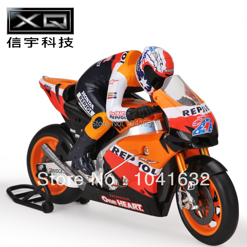 Free shipping XQ 1:6 Ultralarge motorcycle remote control car boy toy automobile race cool boy's gift(China (Mainland))