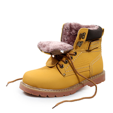 39-46 Fashion Winter Boots Men Ankle Boots Winter Leather Boots Men Shoes Winter Warm Winter Shoes Fur Plus Size US11 US12(China (Mainland))