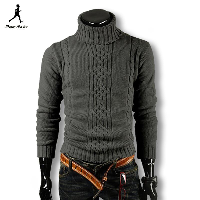 2015 Men Pullover Men Sweater Brand Turtleneck Winter Pull Homme Wool Sweater Men Plus Size Men Sweater Patterns Mens Sweaters(China (Mainland))
