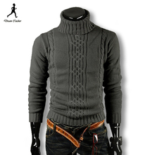 2016 Men Pullover Men Sweater Brand Turtleneck Winter Pull Homme Wool Sweater Men Plus Size Men Sweater Patterns Mens Sweaters(China (Mainland))