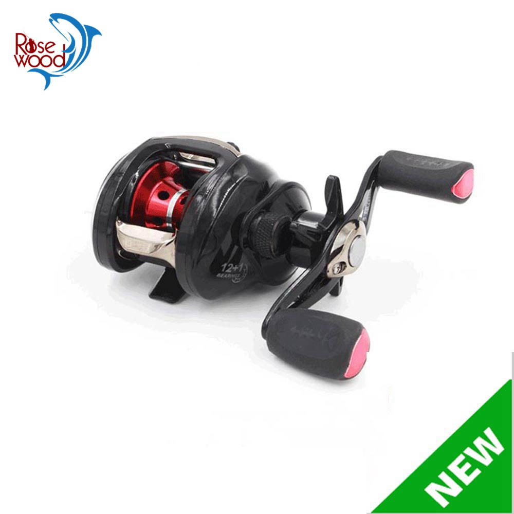 New Fishing Reel 12+1BB Left Hand / Right Hand Baitcasting Reel Surf Bait Casting Reels Freshwater SaltWater Lure Fishing Reel(China (Mainland))