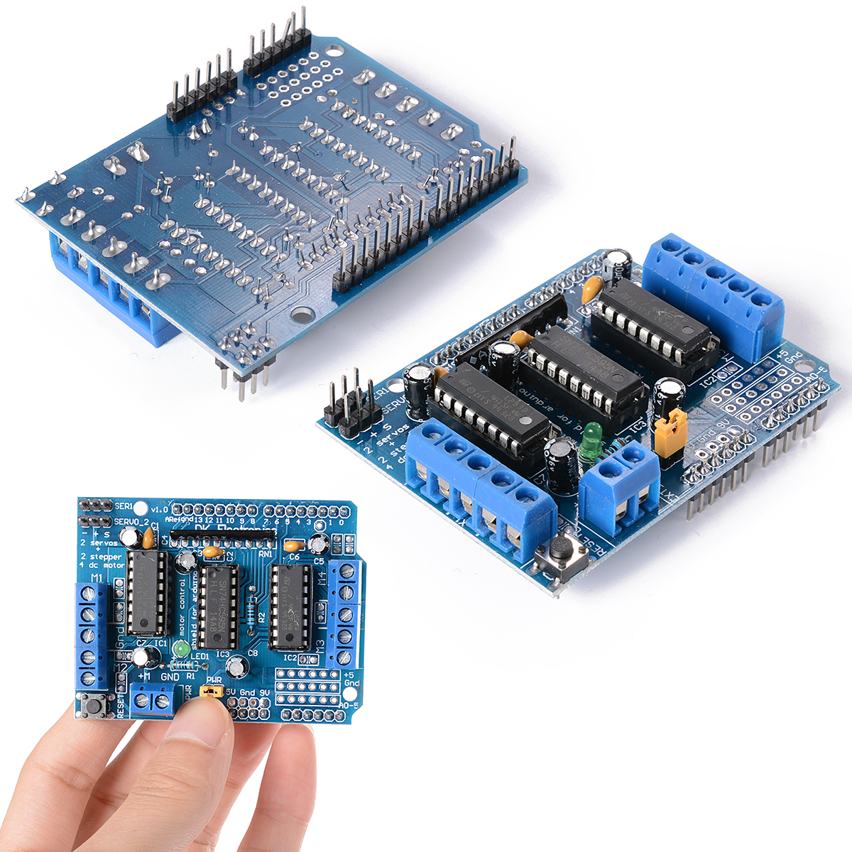 1X Motor Drive Expansion Shield Board Module L293D for Arduino Duemilanove Mega UNO TE216(China (Mainland))