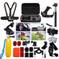 Free Shipping Accessories Set 30 in 1 Bag Chest Strap Tripod for GitUp Gopro Hero SJ4000