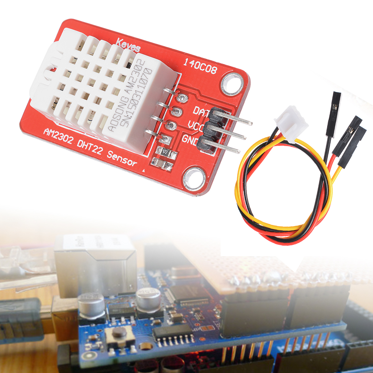 DHT22 Digital Humidity AM2302 and Temperature Sensor Module For Arduino TE248+(China (Mainland))