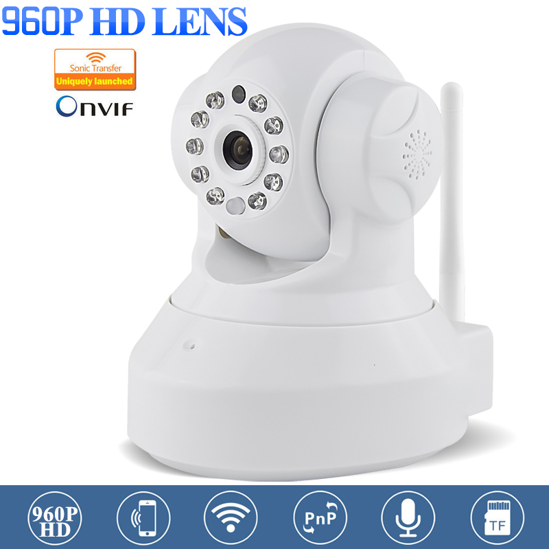 IP Network MINI Camera 960P CMOS Sensor HD Wifi Wireless PC/APP to control Security CCTV Camera ONVIF Night Vision SD Card(China (Mainland))