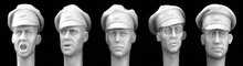 1/35 Resin Soldier Model Reconstruction Head Carving Free Shipping(China (Mainland))