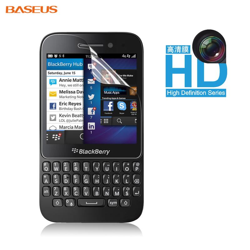 For blackberry   q5 protective film mobile phone film q5 high permeability membrane fingerprint hd r10 membrane q5 membrane