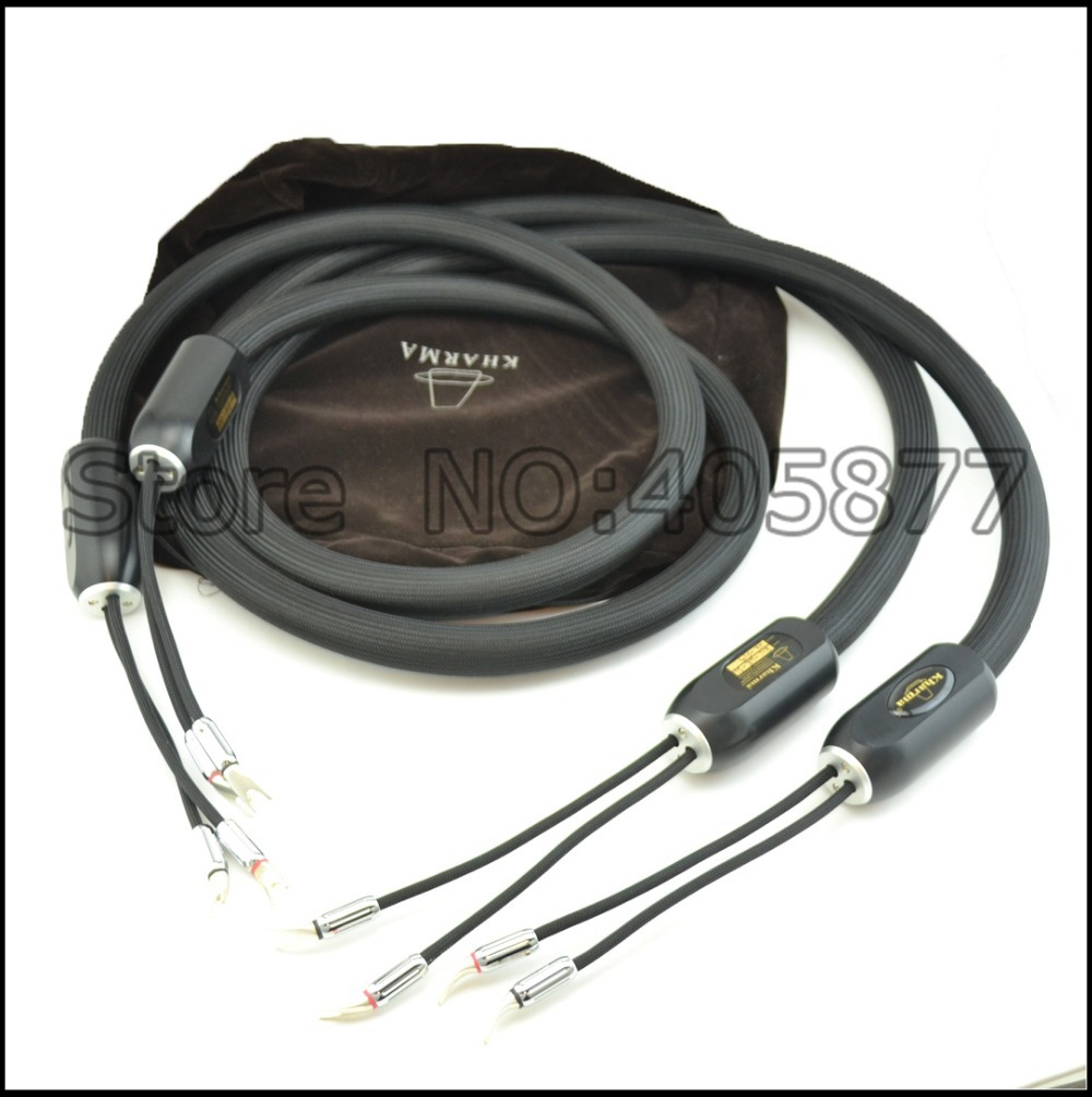 viborg audio Speaker Cable 2.5M 1pair KIC GR 1C Top HIFI speaker cables with bag(China (Mainland))