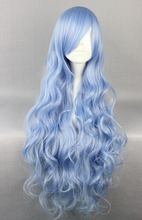 DYZ 622+++ New Cheap 80cm Long Four is the Department of Wavy Anime Fashion Cosplay Wig (China (Mainland))