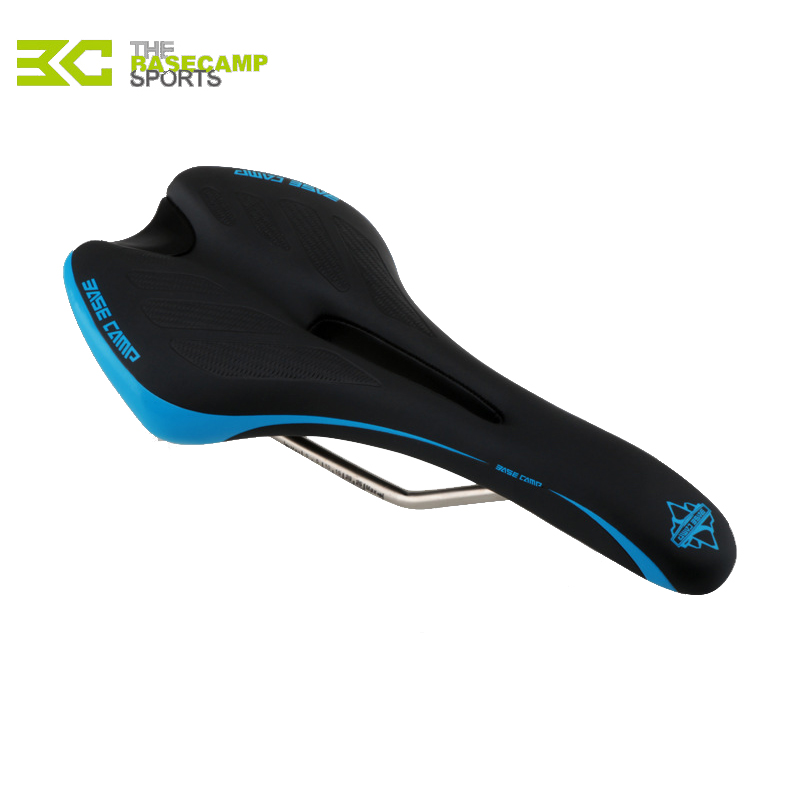 Basecamp Unisex Bike Saddle PU+Elastic Sponge Road Bicycles MTB Cycling Seat Wearproof Front Seat Mat 5 Colors Bicycle Seat(China (Mainland))