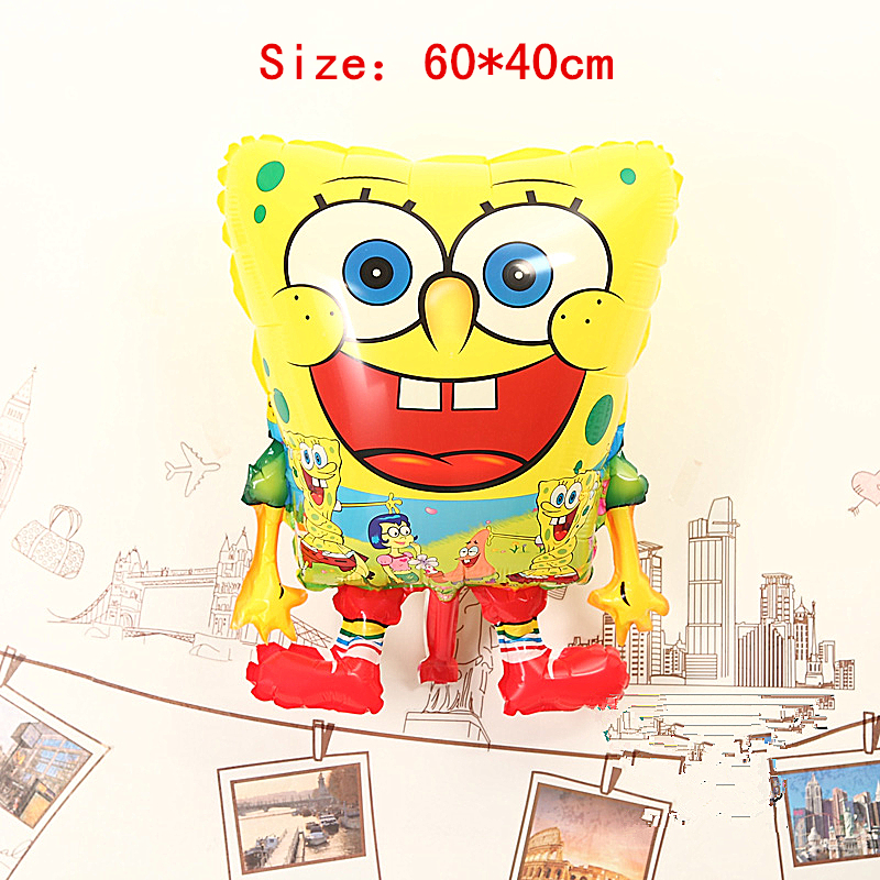 Balloon toys, Sponge Bob Classic toys Inflatable toys, SpongeBob Party Decoration Balloon, Animation SpongeBob Baloes de festa(China (Mainland))
