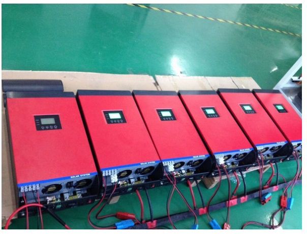 FREE SHIPPING 16Kw 16000w DC 48v TO AC 220v/230 parallel solar power inverter/ AC charger/50A solar charger/dual-system priority<br>