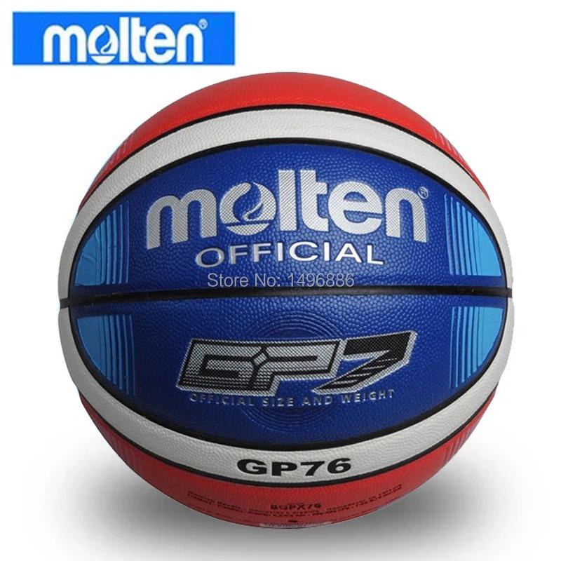 2015Brand Free Shipping Size7 Molten GP76 Basketball Hight Quality PU Leather Basketball Ball With Free Gift Of net bag+pins(China (Mainland))