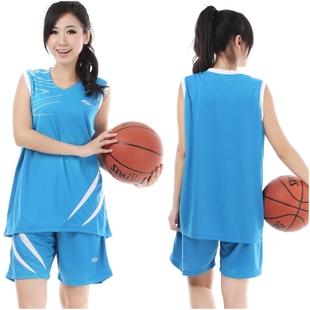 Women's basketball clothes set girls basketball clothing female basketball clothes jersey basketball vest(China (Mainland))