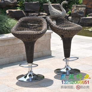 Handmade rattan bar stool high chair lift Special reception<br>