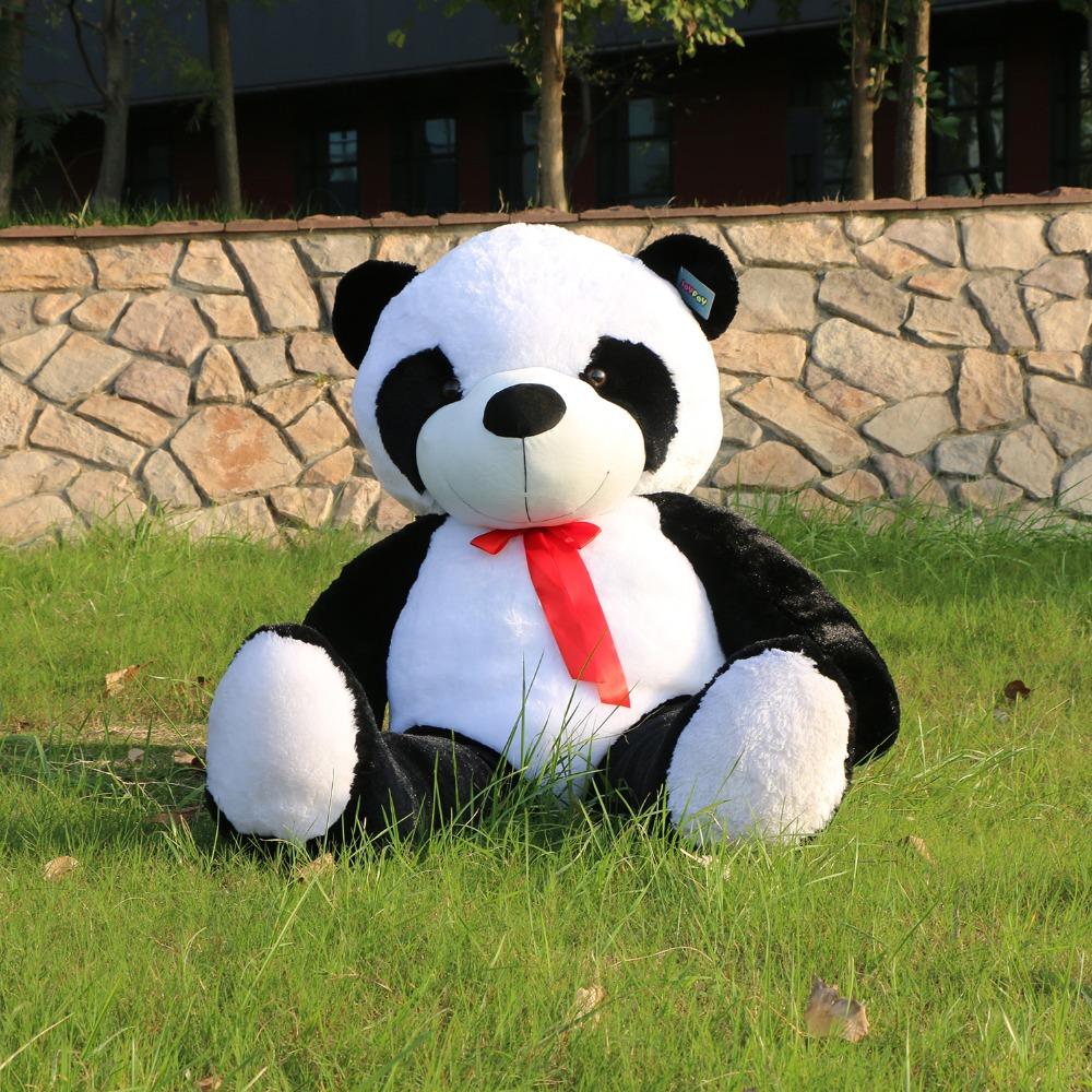 acquista all 39 ingrosso online enorme panda di peluche da. Black Bedroom Furniture Sets. Home Design Ideas