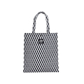 Cheap Large Capacity Bag Women Rhombic Chequer Spot Tote Women Fashion Casual Hand Bag Ladies Designer