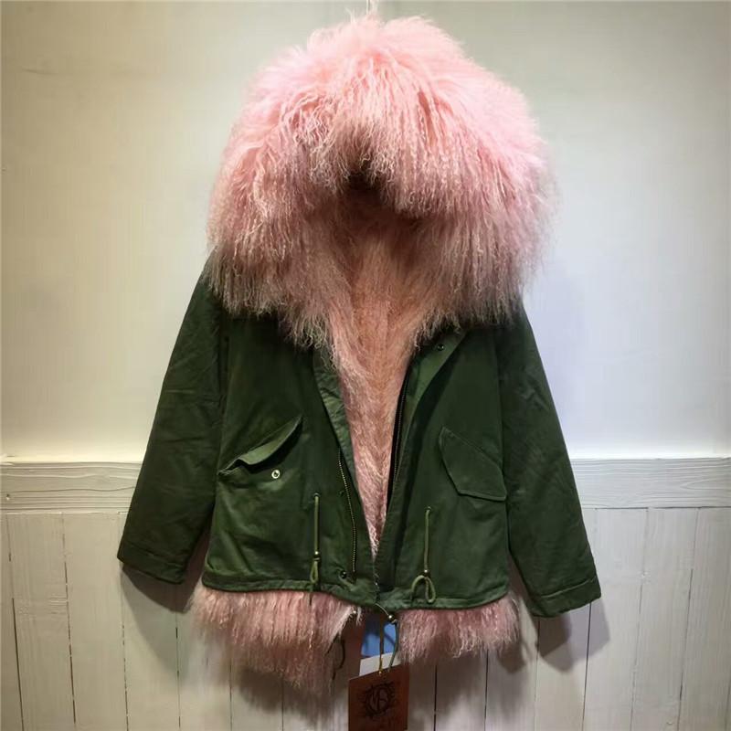 Popular Faux Fur Lining Hooded Women Winter Parka Short-Buy Cheap ...