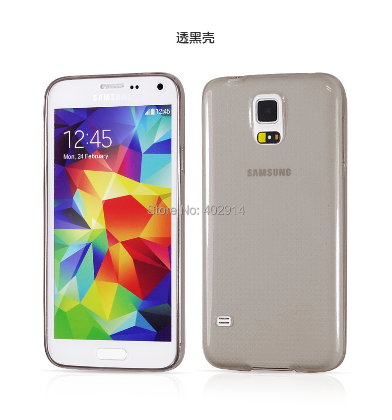 Чехол для для мобильных телефонов  Ultra Thin 0.3mm Crystal Clear Soft TPU case 0,3 Samsung Galaxy s3 i9300 Galaxy s4 i9500 s5 i9600 100pcs/lot стоимость