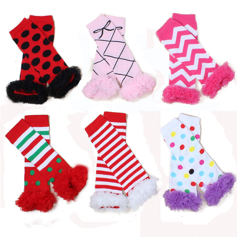 Spring Fall Candy-colored 100%Cotton Lovely Dot Leggings Warm Pantyhose For Children Baby Girls 0-2years Newborn 2015Hot Selling