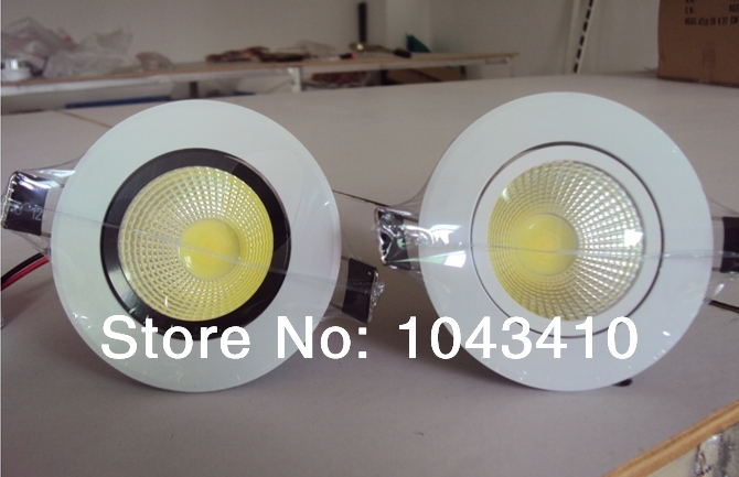 free shipping 2014 New arrival 3w/5W/7W/9W/12W COB LED Ceiling Light down light High Brightness Cool White/Warm White <br><br>Aliexpress