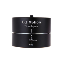 Andoer 360 degree 120 Minutes Panning Rotating Tripod Time Lapse Stabilizer Tripod Adapter for Gopro ILDC Mobilephone(China (Mainland))