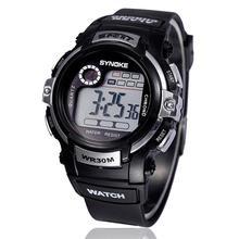 2016 New Multi Multifunction Boy Digital LED Quartz Alarm Date Sports Waterproof Wrist Watch RV