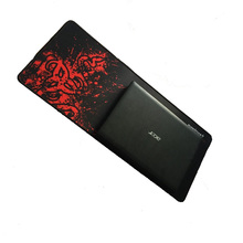 New Free Shipping Red Large Laptop Gaming Mouse Pad Keyboard Mat 700*300mm(China (Mainland))