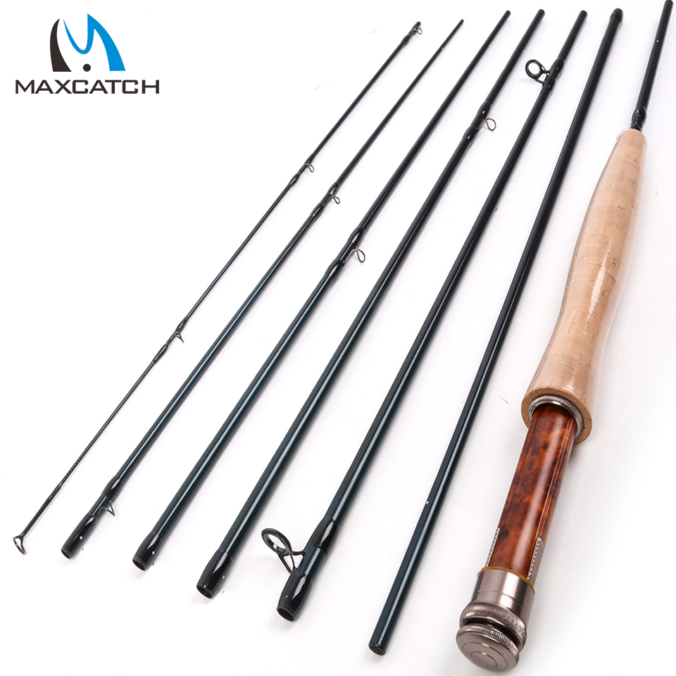 Free shipping!! Half-well FAST ACTION Carbon fiber Fly rod 9FT - 6#  with Cordura tube TRAVELLER Fly fishing rod<br><br>Aliexpress