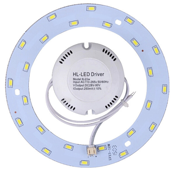 New 5 pcs/lot 5W 12W 15W 18W 23W modern ceiling lamp retrofit board circular plate /led ceiling light lamp ring for home light(China (Mainland))