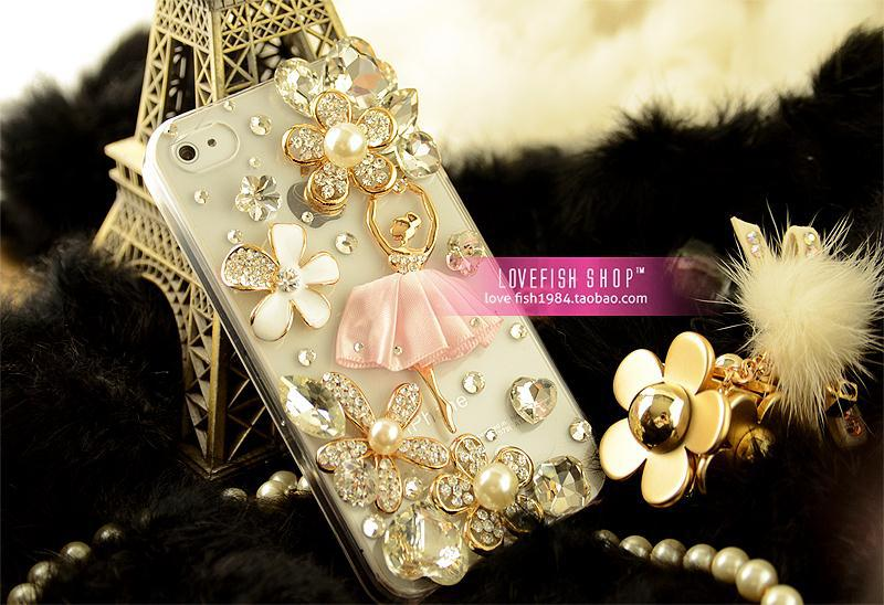 New Fashion Hot sale Ballet girl Hard Back Cover Skin Case For sams SII 9100 Free shipping& Wholesale(China (Mainland))