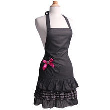 Neoviva Women's Apron Marilyn Sugar n' Spice Sexy Style Lady Apron Kitchen Cooking and Cleaning Accessory