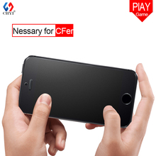 Cfer's nessary glass For Iphone5 SE Tempered Glass matte glass screen Protector 5 5s 5g 5c glass film CHYI Brand frosted glass