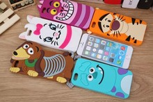 Buy 3D Cartoon Animal Monsters Sulley Tigger Marie/Alice Cat,slinky dog Silicon Phone Case Cover iPhone 4 4S 5 5S SE 6 7 6s Plus for $2.18 in AliExpress store