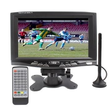7 inch Portable DVB-T LCD TV/ Digital TV with DVB-T, Support USB flash disk
