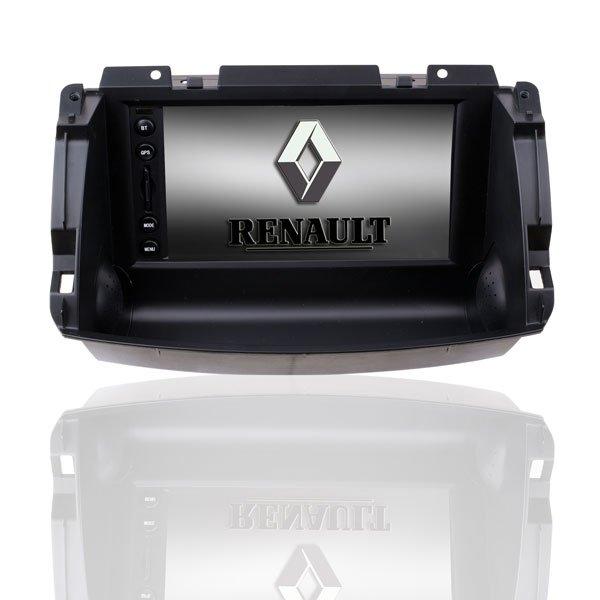 renault koleos 2 din car video con il gps radio bluetooth ipod supporto controllo del. Black Bedroom Furniture Sets. Home Design Ideas