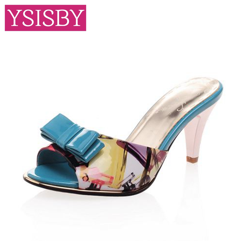 New stly summer female slippers sexy sandals bow fish head for Fish head shoes