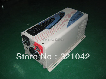 free shipping, AP2000W pure sine wave inverter,DC input 12V/24V/48V,10A charger,LCD screen,Surge Rating(20s) 6000W