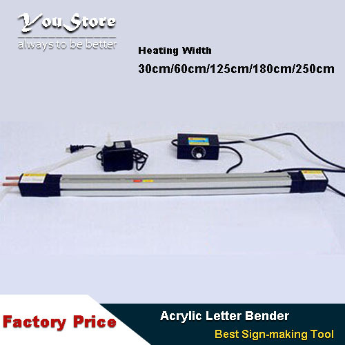 Acrylic letter Hot-bending Machine Plexiglass PVC Plastic board advertising channel bender 250cm(China (Mainland))