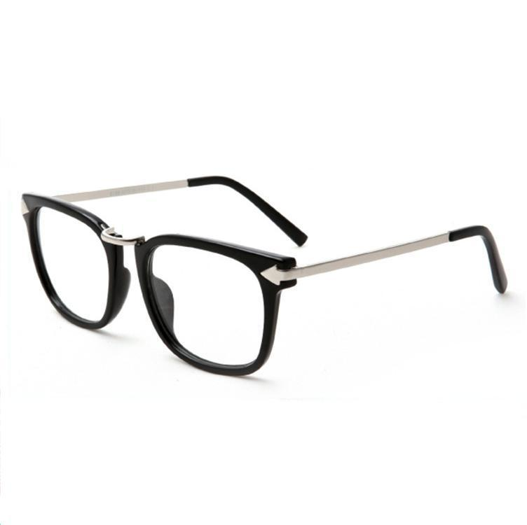 Glasses Frames And Style : Plain mirror glasses myopia glasses frame optical glasses ...