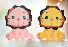 Gift for baby 1pc 45cm romantic cartoon forest king lion plush doll cute novelty creative girl stuffed toy