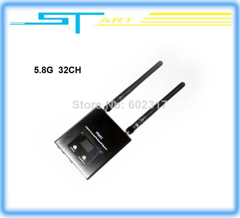 Dual 5.8 G 32 frequency sweep frequency receiver/double road extension Blu-ray three-way output liquid LED display to(China (Mainland))
