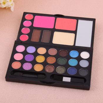30 Color Eye shadow Blush Lip Gloss Eyebrow Cosmetic Makeup Palette#20858