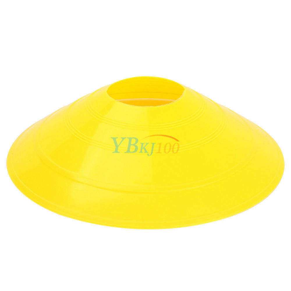 Set 50 Field Marker Saucer Disc Cones Soccer Football Team Sports Training AIids(China (Mainland))