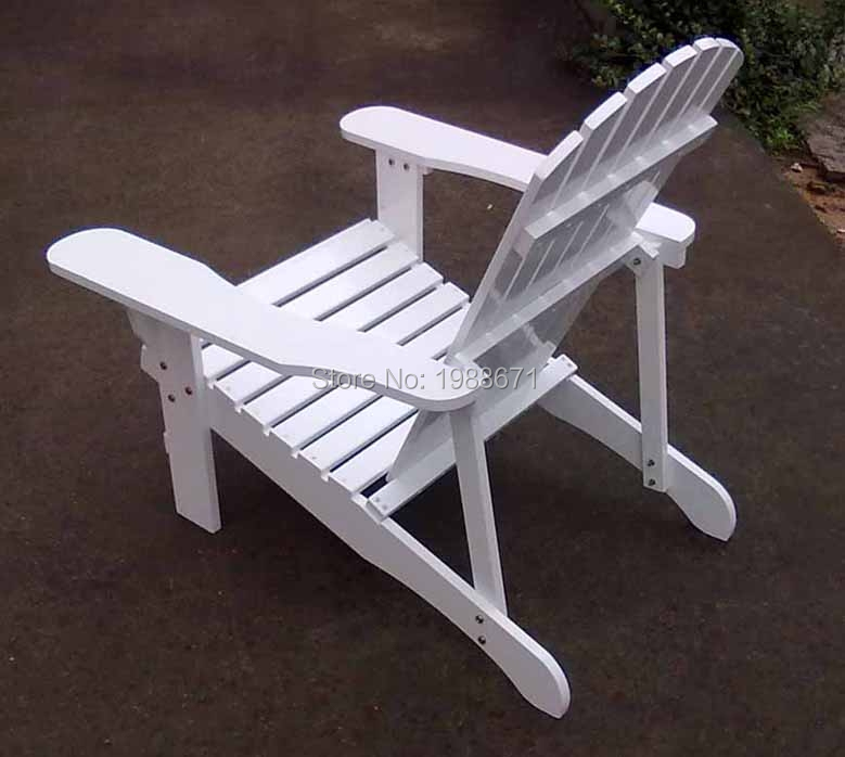 outdoor patio plastic wood adirondack chair chaise lounge reclined bench white in beach chairs. Black Bedroom Furniture Sets. Home Design Ideas