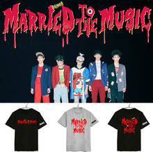 SHINee T-shirt Married To The Music 2015 SHINee 4th album REPACKAGE kpop clothes t shirt clothes for women men kpop clothing tee