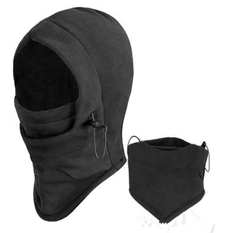 Thermal Fleece Balaclava Hat Hood Ski Bike Wind Stopper Face Mask Men Neck Warmer Winter Fleece Motorcycle Neck Helmet Cap M0256(China (Mainland))