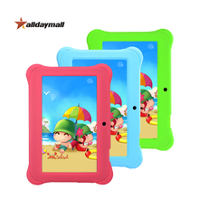 Alldaymall Tablet PC 7 inch Android 4.4 for kids Children Tablet Android HD 1GB RAM 8GB ROM With Silicone Casa and 5V 2A Charger(China (Mainland))