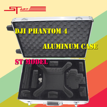3pcs DJI Phantom 4 Case Aluminum Outdoor Carry Box for DJI Phantom 4 Drone with Camera Protector FPV Parts Gift Fast Shipping